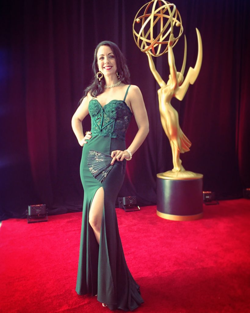 Lisa Mason Lee The Emmys Red Carpet 2019